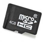 HP - FLASH MEMORY CARD - 4 GB - MICROSDH,  Grade B